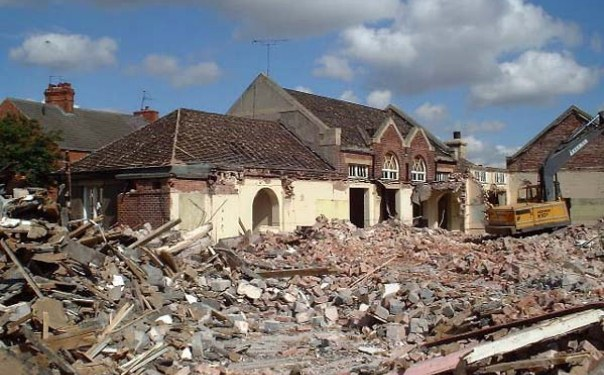 Demolition Of Infants School - 2005