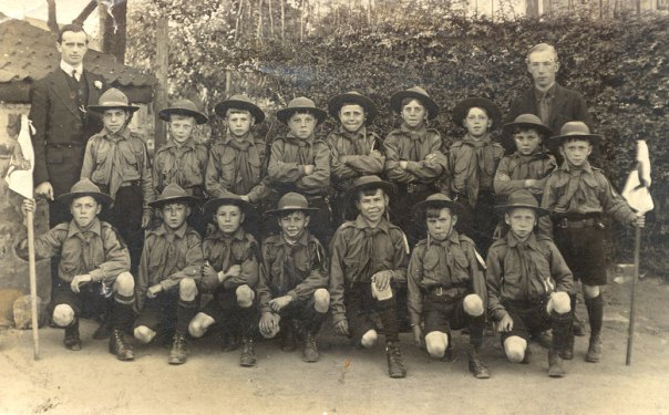 Woodsetts Scouts Circa 1916